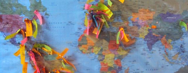 países mapa mundi