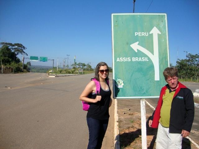 Fronteira Brasil - Peru