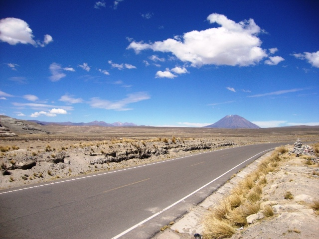 As estradas no  Peru