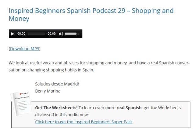 espanhol podcast