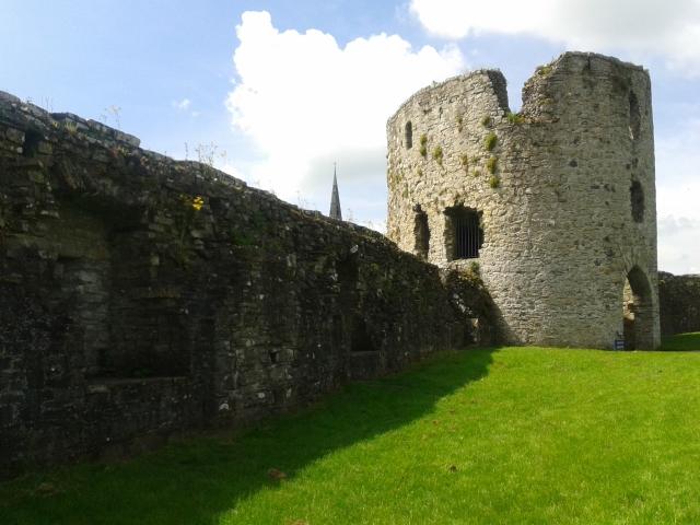 muralha castelo medieval