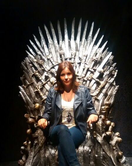 Meu Trono de Ferro! I'm the Queen! hahaha