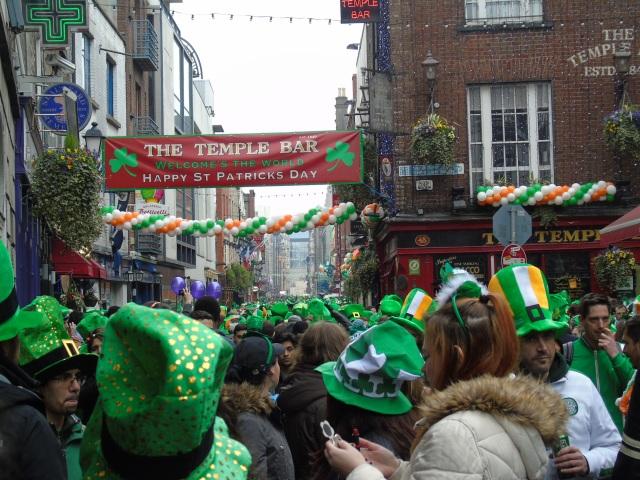 St Patrick's Day Dublin 2015