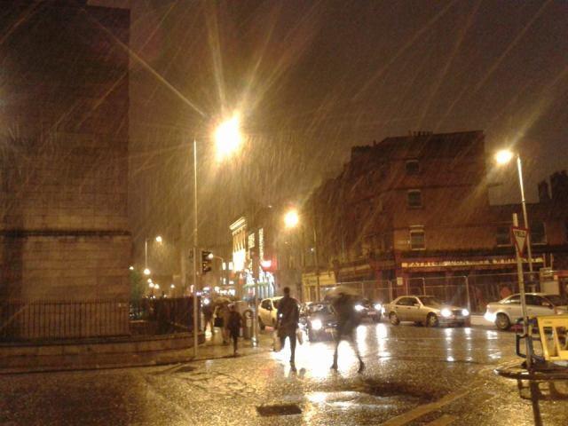 inverno na irlanda
