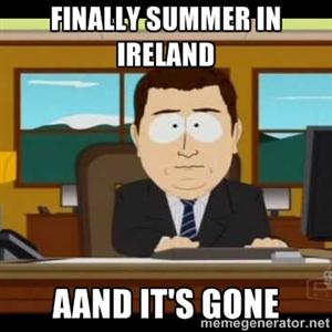 verão na irlanda